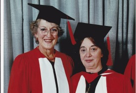 Helen Lucas and Germaine Greer
