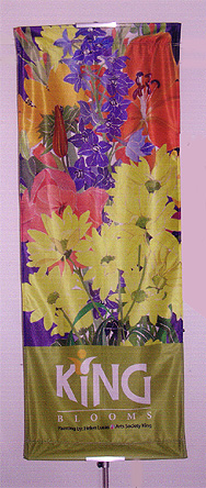King Blooms Banner